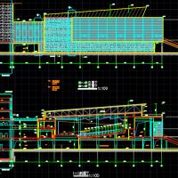 三层报告厅建结水电全套施工图