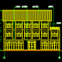重庆707平米文化活动中心建筑及结构全套施工图