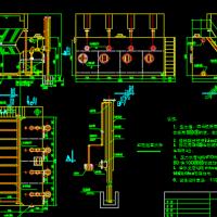 80t/h全自动净水器结构总图