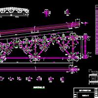 24米跨钢屋架课程设计(含计算书、图纸)