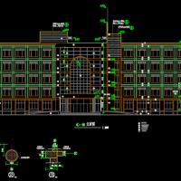 5629平米五层专科医院建筑施工图