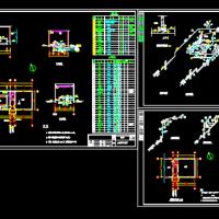 某地污水处理厂加药间工艺设计图纸