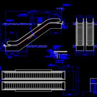 40余种型号自动扶梯建筑模型CAD图汇编
