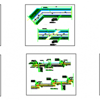 景观水池CAD施工详图