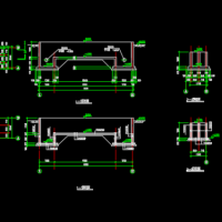 某地区医院消毒池结构设计施工图纸