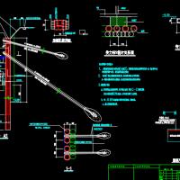 杭州某大酒店基坑支护工程图纸(排钻孔灌注桩)