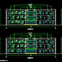 3128平米3层框架殡仪馆骨灰堂建筑设计施工图