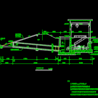 卧式双吸离心泵扬水站设计图