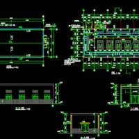 某污水厂鼓风机房工艺设计CAD图