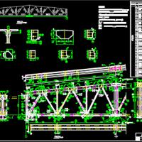18米跨梯形钢屋架课程设计(图纸 计算书 任务书)