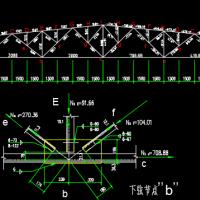 24米跨梯形屋架钢结构课程设计(带计算书)
