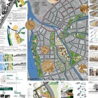 第五届全国高校景观设计毕业作品展(滨水景观规划)
