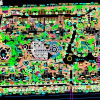 上海嘉定某小区规划设计平面图