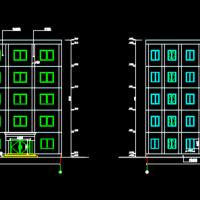 五层框架结构中学综合办公楼毕业论文2323平米