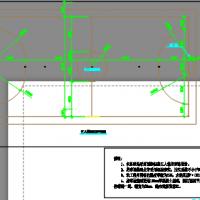 人造草坪足球场及围网设计图纸