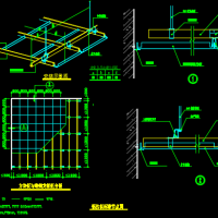 铝扣板吊顶标准节点图