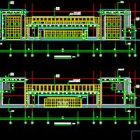 江苏3218平米三层会所建筑结构水电全套施工图