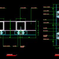 干挂铝塑板幕墙节点详图