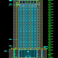 某地税局高层办公楼建筑设计施工图(带人防)