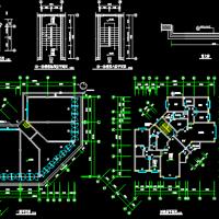 七层住宅楼全套施工图纸(含建筑结构水电)