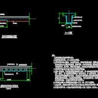 碳纤维布加固梁CAD图纸
