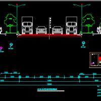 市政道路三舱地下综合管廊工程图纸282张