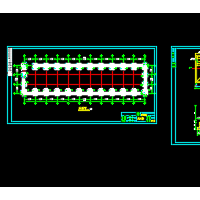 钢结构厂房独立柱基础施工图