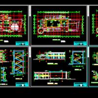 4082平米三层文化馆建筑施工图