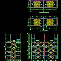 钢结构楼梯建筑图画法