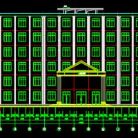 5040㎡六层综合楼毕业设计(计算书、建筑、结构图)