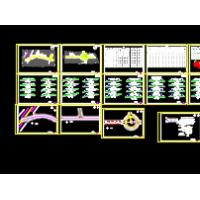 某地园区道路施工图(含雨污水设计)