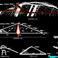 江河土石坝枢纽布置及施工组织设计方案