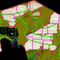 山地30MW地面光伏发电项目设计图纸