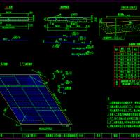 桥梁用后张预应力空心板设计图(内含10张图)