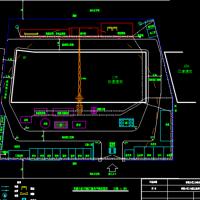 幸福小区住宅楼施工平面布置图