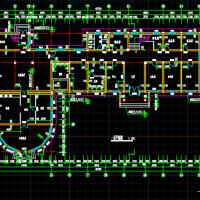 5层养老院建筑方案图