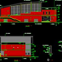 1640平米中学报告建筑设计图纸