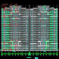 两栋18层住宅楼建结水电暖全套图