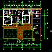 新农村五套一层住宅建筑施工图