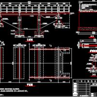 农村简易桥梁设计图纸