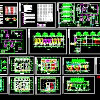 溴化锂直燃机组机房设计图纸