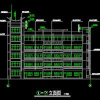 5层框架结构小学教学楼建筑施工图