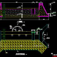 水利工程拦河坝结构设计图