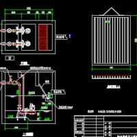 医院污水调节池结构图