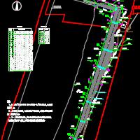 岩土质边坡格构梁+预应力锚索+放坡支护工程施工图