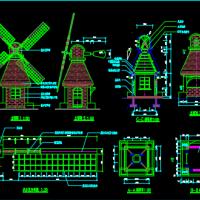 风车建筑详图