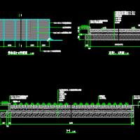 园路、步石、植草砖停车场设计详图