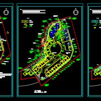 某小区给排水设计总平面图