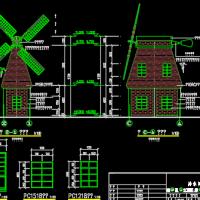 排水闸系统图纸(闸室、箱涵及启闭机)