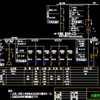 小区箱式变电站CAD图